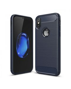 Чехол накладка iPAKY для iPhone X Blue Slim TPU