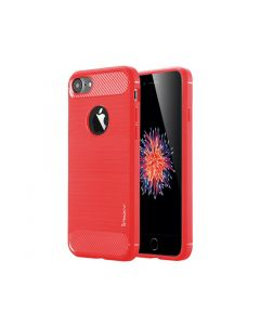 Чехол накладка iPAKY для iPhone 7/8/SE 2020 Red Slim TPU