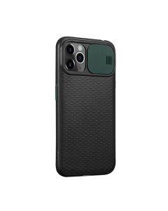 Чехол накладка Camshield TPU для iPhone 11 Pro  Max Black/Green