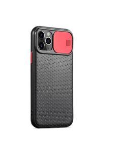 Чехол накладка Camshield TPU для iPhone 11  Pro Black/Red