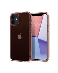 Чехол Spigen для iPhone 12 Mini Crystal Flex Rose