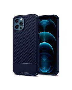 Чехол Spigen для iPhone 12 Pro Max Core Armor Navy Blue