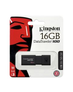 Флешка Kingston 16Gb DataTraveler 100 G3 USB 3.0