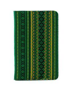 Сумка книжка универсальная для планшетов Lagoda 9-10 дюймов Green Embroidery