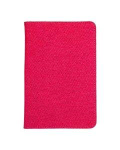 Сумка книжка универсальная для планшетов Lagoda 360 Clip Stand 6-8 дюймов Pink Нейлон