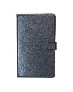 Сумка книжка универсальная для планшетов Lagoda  7 дюймов Black (бабочка) Камера слева