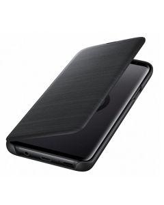 Чехол книжка LED View Cover Samsung S9 EF-NG960PBEGRU (Black)