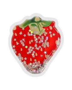 Popsocet круглый Liquid Shine Клубника Красная