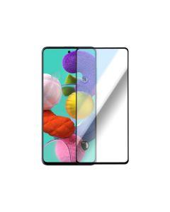 Защитное стекло для Samsung A51-2020/M31s-2020 3D Black (тех.пак)