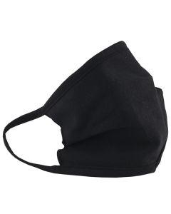 Многоразовая защитная маска для лица 100% хлопок черная