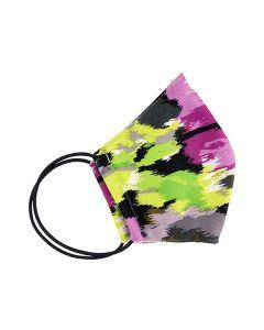 Многоразовая защитная маска для лица хаки (размер M)