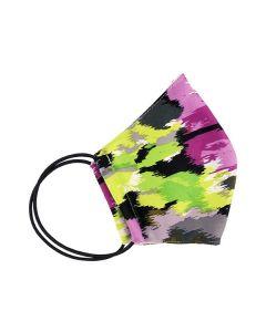 Многоразовая защитная маска для лица хаки (размер S)