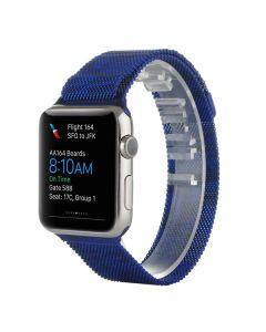 Ремешок для Apple Watch 42mm/44mm Milanese Loop Watch Band Comouflage Blue