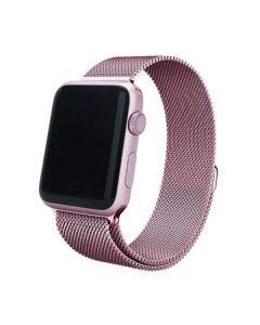 Ремешок для Apple Watch 38mm/40mm Milanese Loop Watch Band Pink