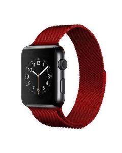 Ремешок для Apple Watch 38mm/40mm Milanese Loop Watch Band Red