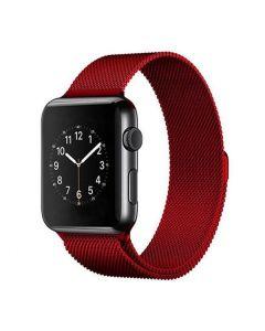 Ремешок для Apple Watch 38mm/40mm Milanese Loop Watch Band Rose Red