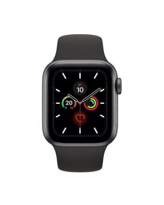 Apple Watch Series 6 GPS 44mm Space Gray Aluminum Case with Black Sport Band (M00H3)