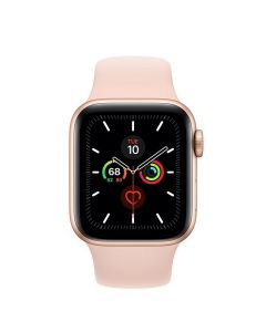 Apple Watch Series 5 40mm GPS Gold Aluminum Case with Pink Sand Sport Band (MWV72)