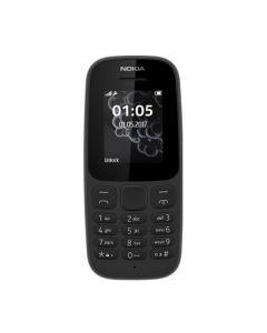 Nokia 105 Single Sim New Black (A00028356)