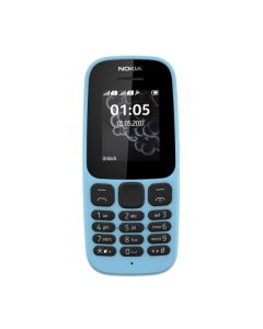 Nokia 105 Single Sim New Blue (A00028372)