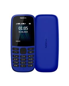 Nokia 105 Single Sim 2019 Blue (16KIGL01A13)