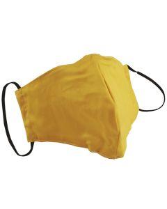 Многоразовая защитная маска для лица оранжевая (размер S)