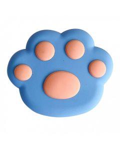 Popsocet 3D Лапа Синяя/Оранжевая