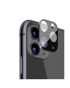 Защитное стекло на заднюю камеру iPhone 11 Pro/11 Pro Max Metal Glass 3D Black