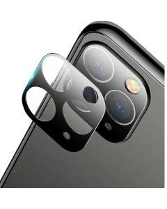 Защитное стекло на заднюю камеру iPhone 11 Pro/11 Pro Max PMMA 3D Black