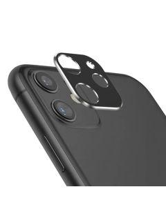 Защитное стекло на заднюю камеру iPhone 11 Metal Glass 3D Black