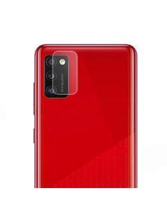 Защитное стекло на заднюю камеру Samsung A41-2020/A415 тех.пак