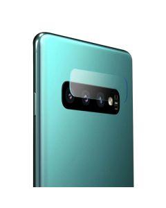 Защитное стекло на заднюю камеру Samsung S10 Plus G975 тех.пак