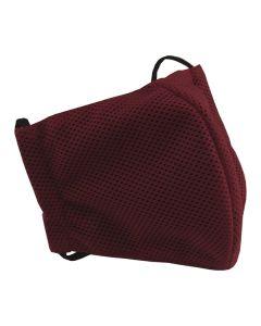 Многоразовая защитная маска для лица Sport красная (размер S)