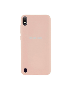 Чехол Original Soft Touch Case for Samsung A10-2019/A105 Pink Sand
