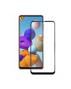 Защитное стекло для Samsung A21s-2020/A217 5D Black (тех.пак)