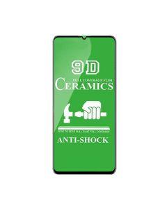 Защитное стекло для Samsung A31-2020/A315 3D Black (тех.пак) Ceramics