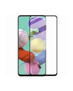 Защитное стекло для Samsung A51-2020/M31s-2020 3D Black (тех.пак) Ceramics