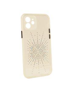 Silicon Diamond Younicou Case iPhone 12 Silver Shine