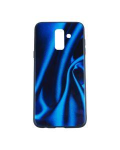 Silicon Mirror Case для Samsung A6-2018/A600 Blue Silk