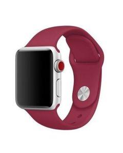 Ремешок для Apple Watch 42mm/44mm Silicone Watch Band Rose Red