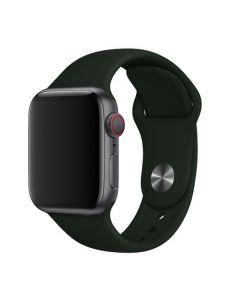 Ремешок для Apple Watch 38mm/40mm Silicone Watch Band Forest Green