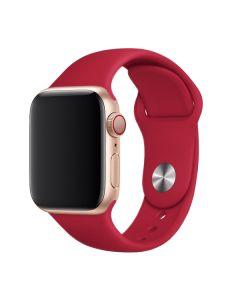 Ремешок для Apple Watch 42mm/44mm Silicone Watch Band Pomegranate