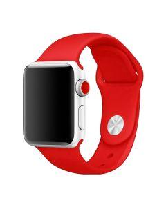 Ремешок для Apple Watch 42mm/44mm Silicone Watch Band Red