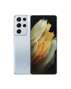 Samsung Galaxy S21 Ultra 12/128GB Phantom Silver (SM-G998BZSDSEK) (M)