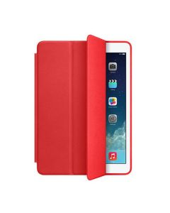 Leather Case Smart Cover for iPad 10.2 2019/2020 Red