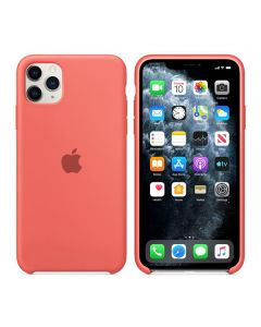 Чехол Soft Touch для Apple iPhone 11 Pro Max Bright Pink