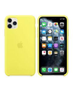 Чехол Soft Touch для Apple iPhone 11 Pro Max Lemonade