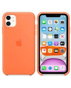 Чехол Soft Touch для Apple iPhone 11 Apricot Orange