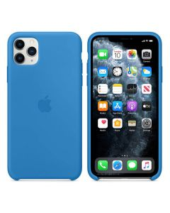 Чехол Soft Touch для Apple iPhone 11 Pro Max Surf Blue