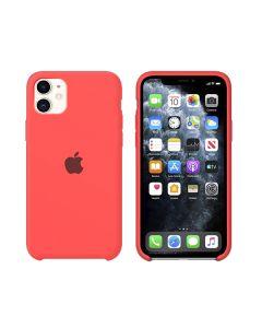Чехол Soft Touch для Apple iPhone 11 Bright Pink